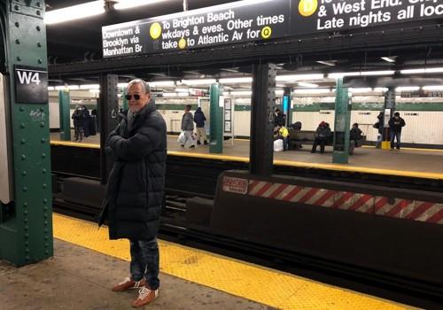 N.Yでは何十年かぶりに地下鉄にも乗りました!